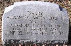 Alexander Bacon Sandy Coxe, III