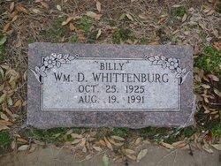 William Daniel Billy Dan Whittenburg