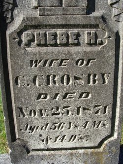 Phebe Hopkins <i>Fessenden</i> Crosby
