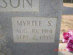 Myrtle Lucille <i>Shumake</i> Patterson
