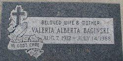 Valeria Alberta <i>Siemion</i> Baginski