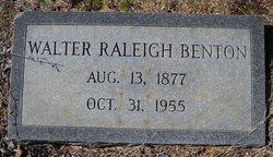 Walter Raleigh Benton