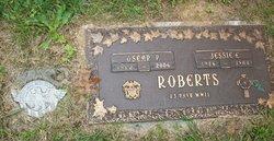 Oscar P Roberts