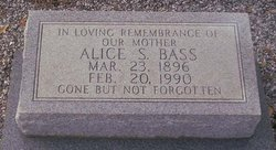 Alice E. <i>Singleton</i> Bass