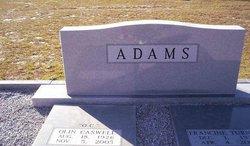Olin Caswill OC Adams