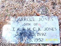 Carroll Jones