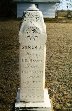 Sarah Ann <i>Williams</i> Hayes