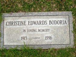 Christine <i>Edwards</i> Bodoria