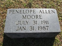 Penelope <i>Allen</i> Moore