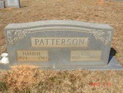 Nancy Mary Nannie <i>Brown</i> Patterson