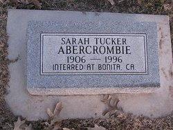 Sarah Rosanna <i>Tucker</i> Abercrombie