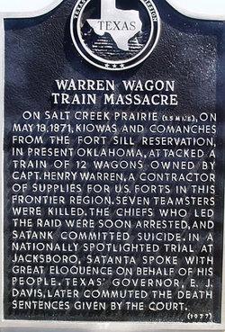 Warren Wagon Train Massacre Site