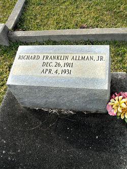 Richard Franklin Allman, Jr