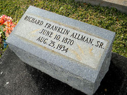Richard Franklin Allman, Sr