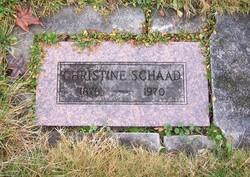 Christine Kathleen <i>Kapp</i> Schaad