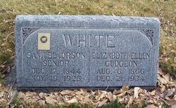 Elizabeth Ellen <i>Gudgeon</i> White