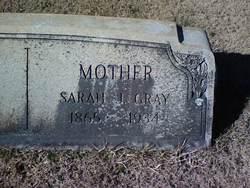 Sarah Jane <i>Thomas</i> Gray