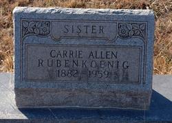 Carrie <i>Allen</i> Rubenkoenig