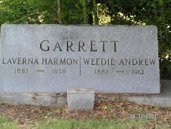 Laverna Ann Vernie <i>Harmon</i> Garrett