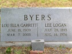 Lou Ella <i>Garrett</i> Byers