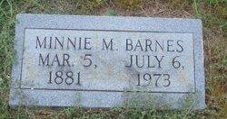 Minnie Maude <i>Wesley</i> Barnes