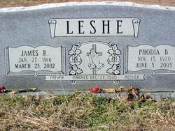 Phodia LaFaye Phodie <i>Basinger</i> Leshe