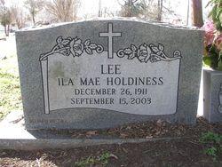 Ila Mae <i>Holdiness</i> Lee