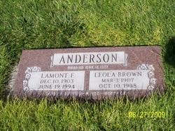 Leola <i>Brown</i> Anderson