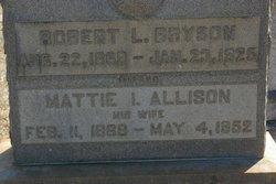 Mattie Irene <i>Allison</i> Bryson