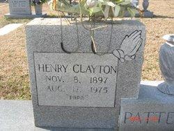 Henry Clayton Patterson