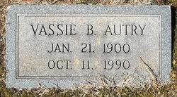 Vassie <i>Berrong</i> Autry