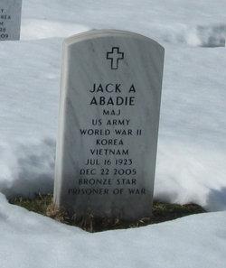 Maj Jack A Abadie
