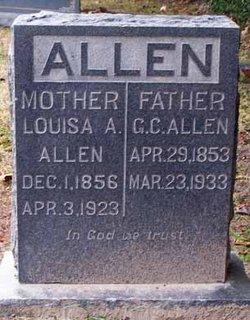 Louisa Alabama <i>McClung</i> Allen