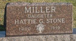 Hattie G. <i>Miller</i> Stone