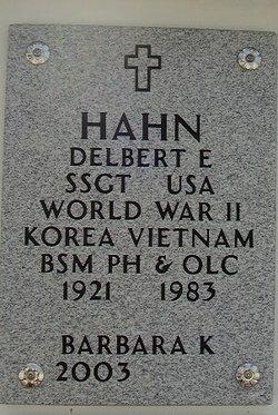 Barbara K Hahn
