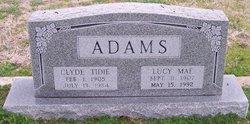 Clyde Tidie Adams