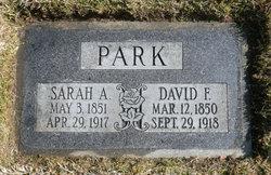 Sarah Alice <i>Ellison</i> Park