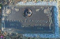 Frances T <i>Bass</i> Amoneno