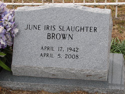 June Iris <i>Slaughter</i> Brown