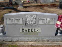Bernice M. <i>Lanning</i> Barker