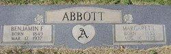 Benjamin Franklin Abbott, Sr