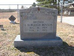 Orvis Burleigh Benson