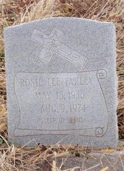 Rosie Lee Farley