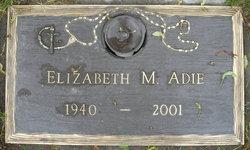 Elizabeth M Adie