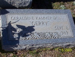 Geraldine Oregon Gerry <i>Kammer</i> Dunn