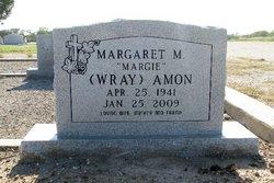 Margaret M <i>Wray</i> Amon