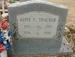 Alvie P. Thacker