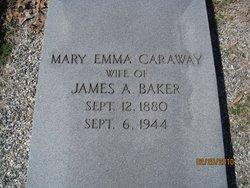 Mary Emma Sister <i>Caraway</i> Baker