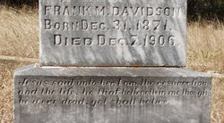 Frank M. Davidson