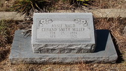 Annie Maud Cehand <i>Smith</i> Miller
